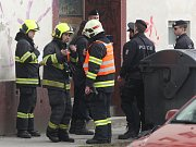 Požár bytu v brněnské Plotní ulici.