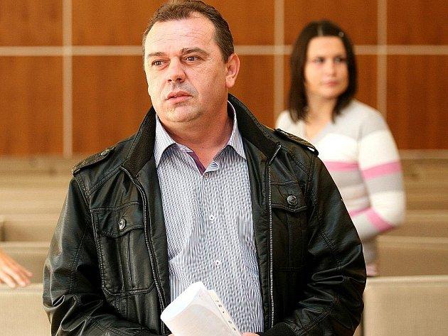 Remzi Gashi u brněnského soudu.