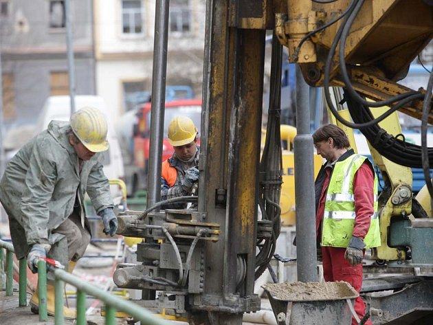 Stavební práce - tunely Dobrovského