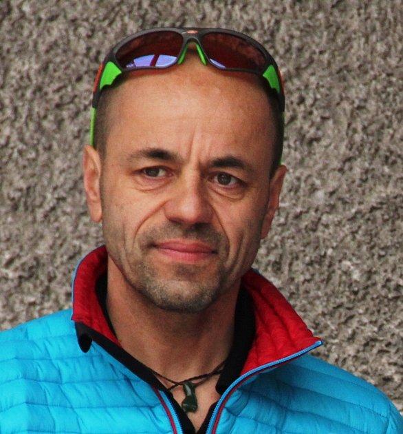 Radek Jaroš, 57let, horolezec, Nové Město na Moravě