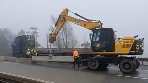 Silničáři zahájili letošní práce na modernizaci dálnice D1.