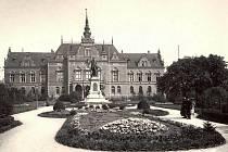 Německý dům v Brně v roce 1900.