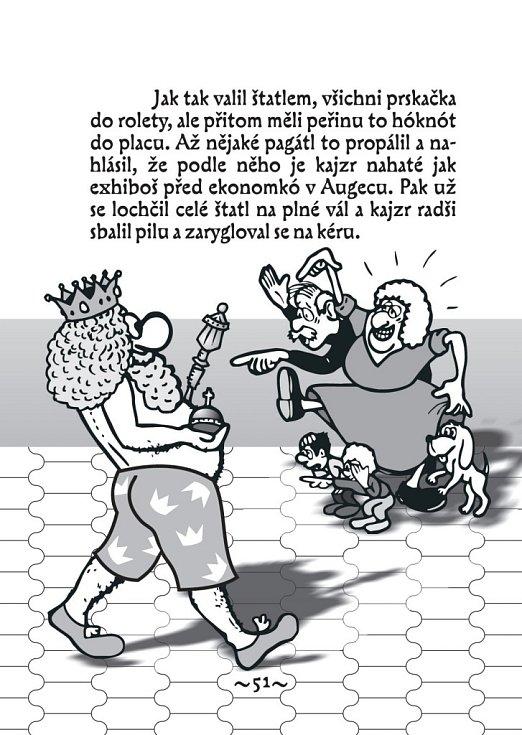 Šiřitel brněnského hantecu Honza Hlaváček.