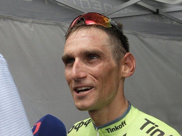 Cyklista Roman Kreuziger.