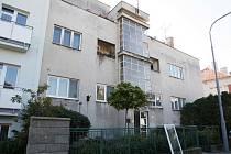 Výměna oken vily v Helfertově ulici.
