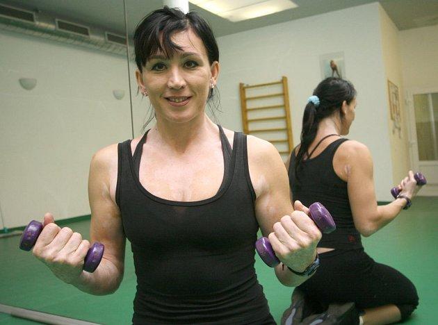 NERADA PROHRÁVÁ. Ilona Továrková se v životě chová jako ve sportu, chce uspět a zatím se jí to daří.