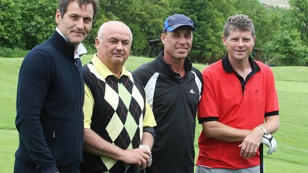 Ivan Lendl hrál golf ve Slavkově u Brna.