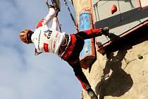 U Olympie se utkali nejlepší čeští lezci v drytoolingu.