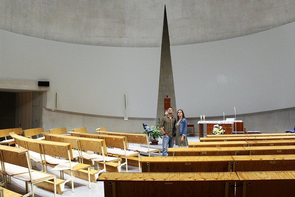 Lidé na Noci kostelů na Lesné například shlédli film nebo vystoupali na věž.