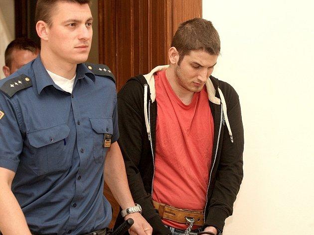 Obžalovaný Michal Kučera (vpravo).