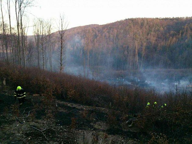 Největší požár likvidovali hasiči uBukovinky na Blanensku