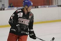 Tým Brněnských sportovních legend se utkal v hokejové exhibici s Falcons Hrušovany. Na ledě nechyběl ani Richard Farda v brněnském dresu.