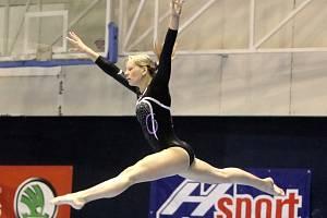 Gymnastka Jana Šikulová.
