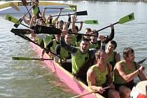 Mistrovství republiky dračích lodí na Nových Mlýnech