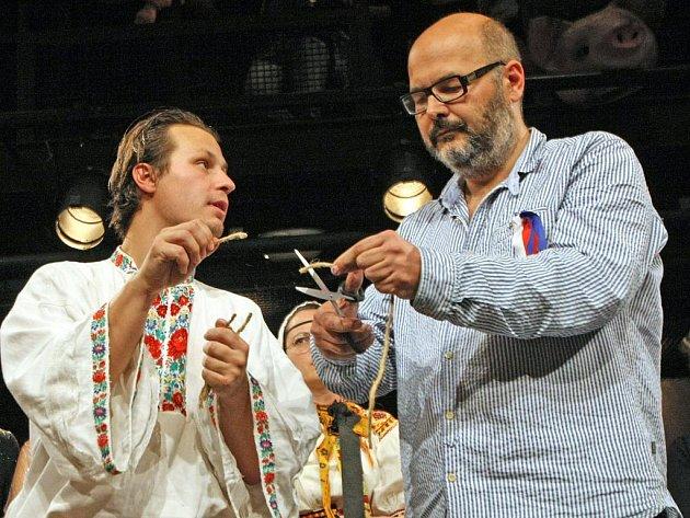 Divadlo Husa na provázku oslavilo 75. narozeniny Václava Havla.