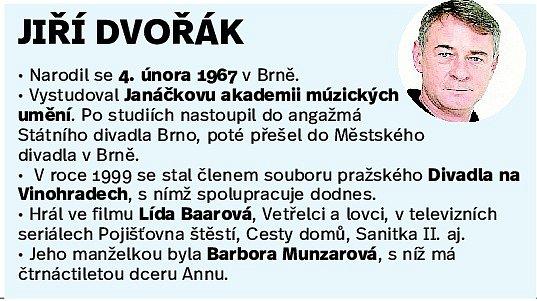 Herec Jiří Dvořák.