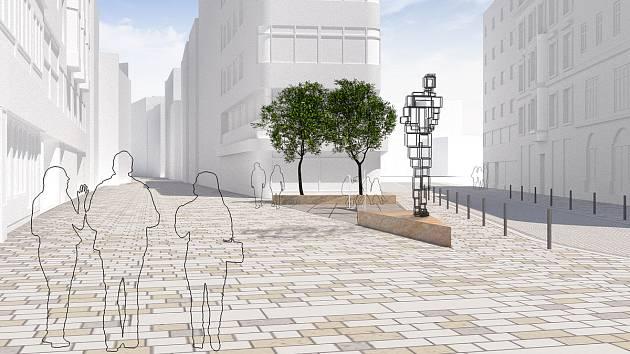 Relaxační zóna v centru Brna: Českou a okolí ozdobí nová kamenná dlažba
