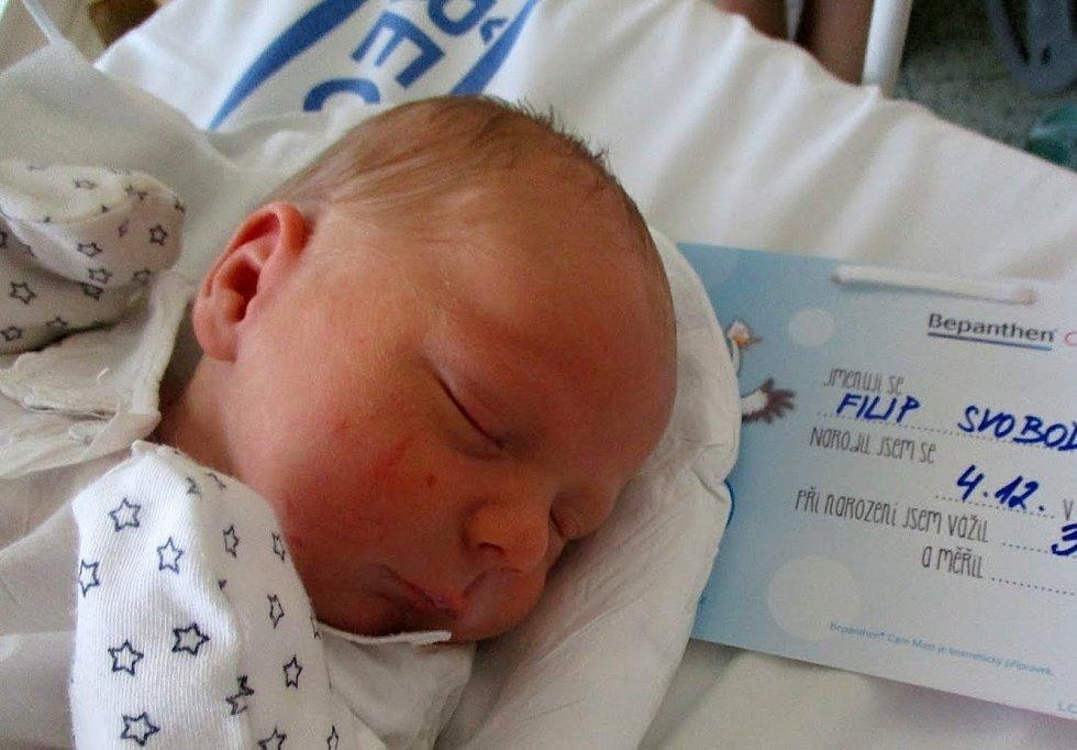 Filip Svoboda, 4. 12. 2020, Nemocnice Břeclav, Velké Bílovice, 3170 g, 49 cm