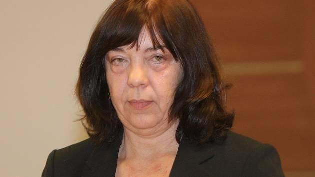 Bývalá ředitelka České obchodní inspekce pro Jihomoravský a Zlínský kraj Tatiana Neuhybelová před brněnským městským soudem.