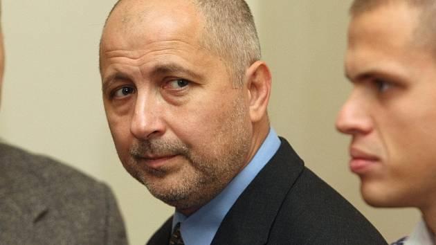 Členové Toflova gangu u soudu v Brně - Rudolf Setvák.