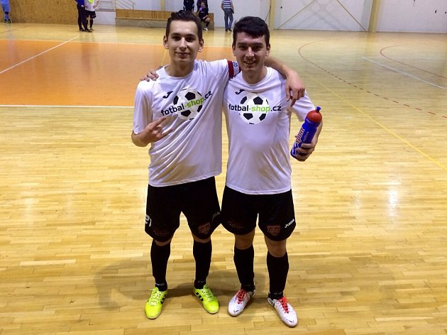 Feodor Bobylev (vlevo) a Kirill Škirič.