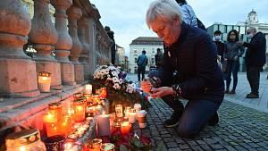 Připomínka Sametové revoluce v Brně
