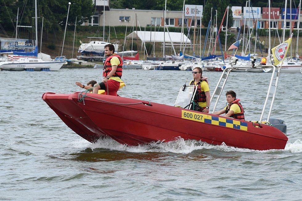 Vodní záchranná služba. Ilustrační foto.