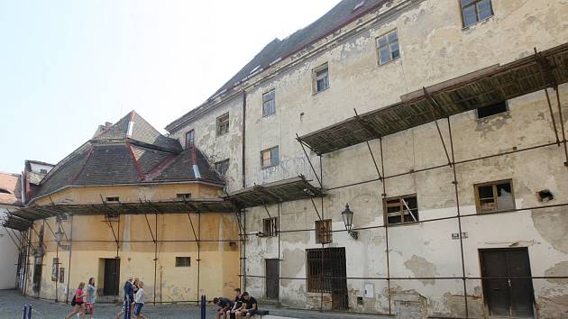 Bývalý klášter františkánů na brněnském Římském náměstí