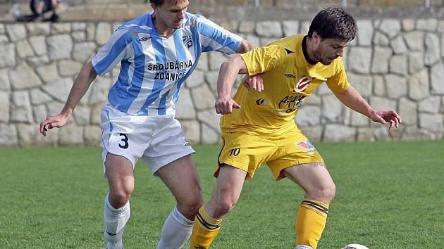 Fotbalisté Rosic podlehli Šardicím 0:2.