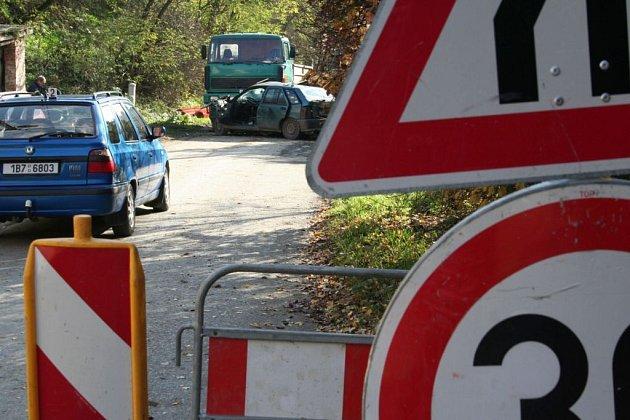 Dopravní nehoda v Dolních Kounicích na Brněnsku