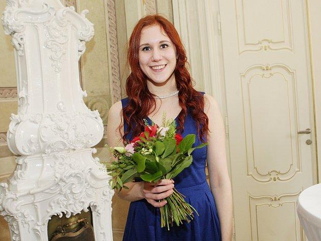 Michaela Galoczová převzala ocenění Brno Ph.D. Talent.