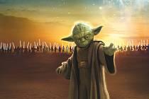 Yoda z Hvězdných válek.