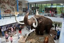 Model mamuta v brněnském Anthroposu slaví devadesát let.