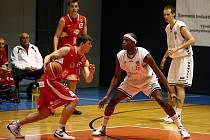 Brněnští basketbalisté podlehli Nymburku 59:104.