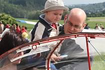Děti si v Medlánkách užívaly oslavy svého dne. Počasí se v Brně dopoledne drželo.