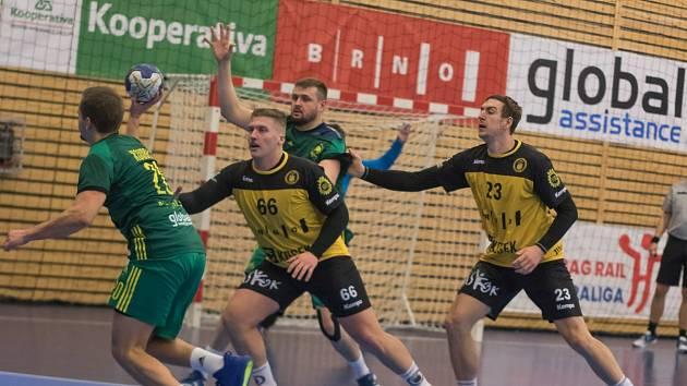 Házená: Maloměřice (zelená) - KP Brno