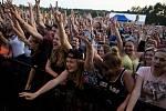 Součástí sobotního programu u Brněnské přehrady byly i koncerty.