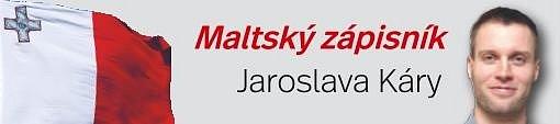 Maltský zápisník Jaroslava Káry.