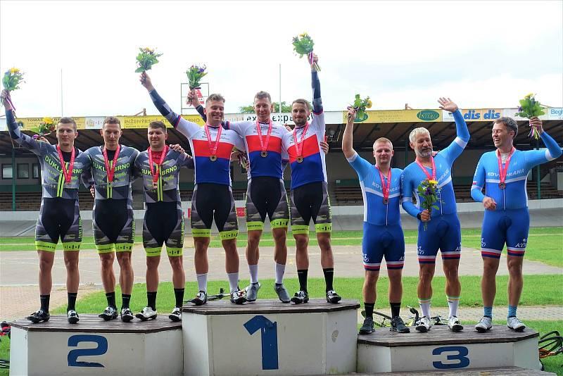 Sprinteři brněnské Dukly si rozdělili domácí mistrovství tituly.