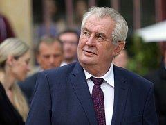 Prezident Miloš Zeman.