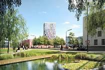 Plánovaná podoba nových bytů ve Slatině.