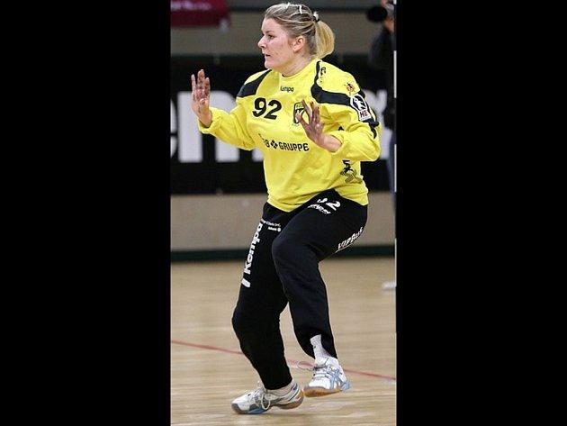 Házenkářka Veronika Fialková.