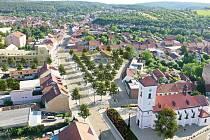 Vítězný návrh architektonické soutěže na novou podobu náměstí Karla IV. v brněnské Líšni. Ilustrační foto.