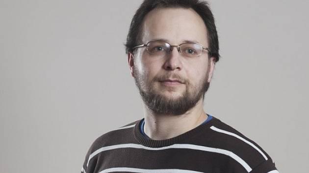 Sociolog Martin Šimon z české Akademie věd.