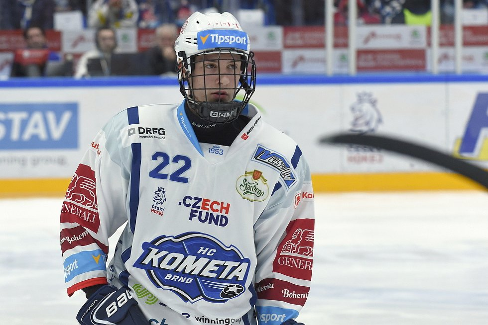 HC Kometa Brno - Jakub Brabenec.