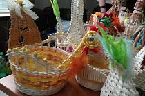 Na krajském úřadě v Brně se v pondělí uskutečnil Velikonoční jarmark.