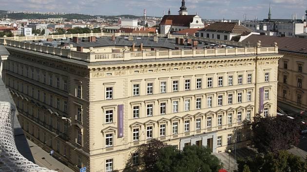Masarykova univerzita Brno, rektorát. Ilustrační foto