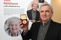 Sokol Brno I - vzpomínková akce u příležitosti 120. výročí narození našeho historicky druhého olympijského vítěze Ladislava Váchy - Vilém Růžička, syn Věry Růžičkové.