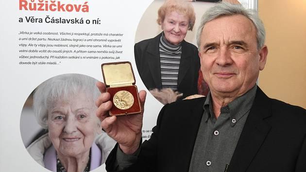 Zlatou medaili gymnastky Věry Růžičkové dostalo Brno