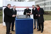 Zahájení stavby nového brněnského studia České televize.